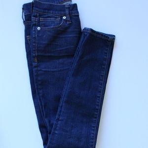 Madewell Dark Wash Denim Skinny Jeans